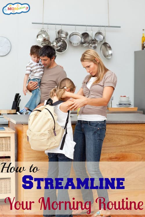 how to streamline your morning routine #parenting #tips