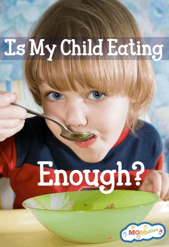 Is my child eating enough food