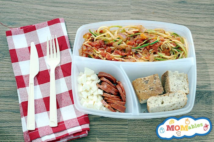 vegetable spaghetti recipe via MOMables.com