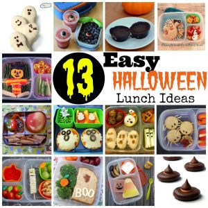 13 Easy Halloween Lunch Ideas