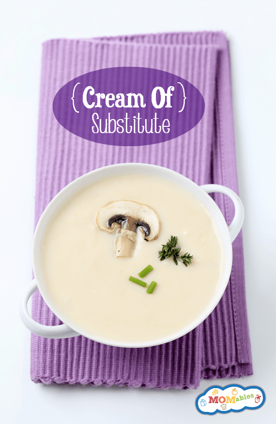 cream of soup substitute. Easy to make and gluten free.