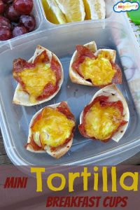 Mini Tortilla Breakfast Cups