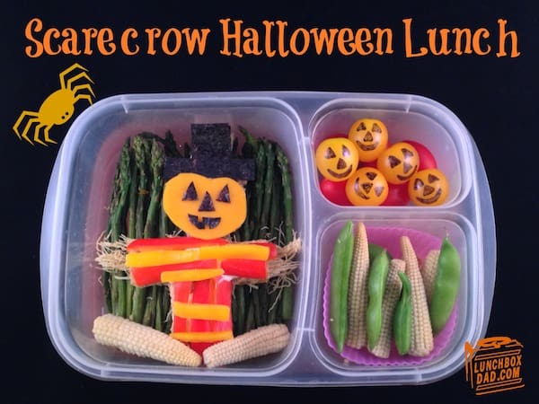 Scarecrow Halloween Lunch