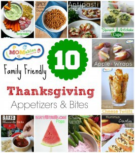 10 Family Friendly Thanksgiving Appetizers & Bites MOMables.com