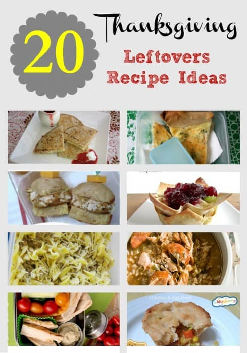 20 Thanksgiving Leftover Recipe Ideas