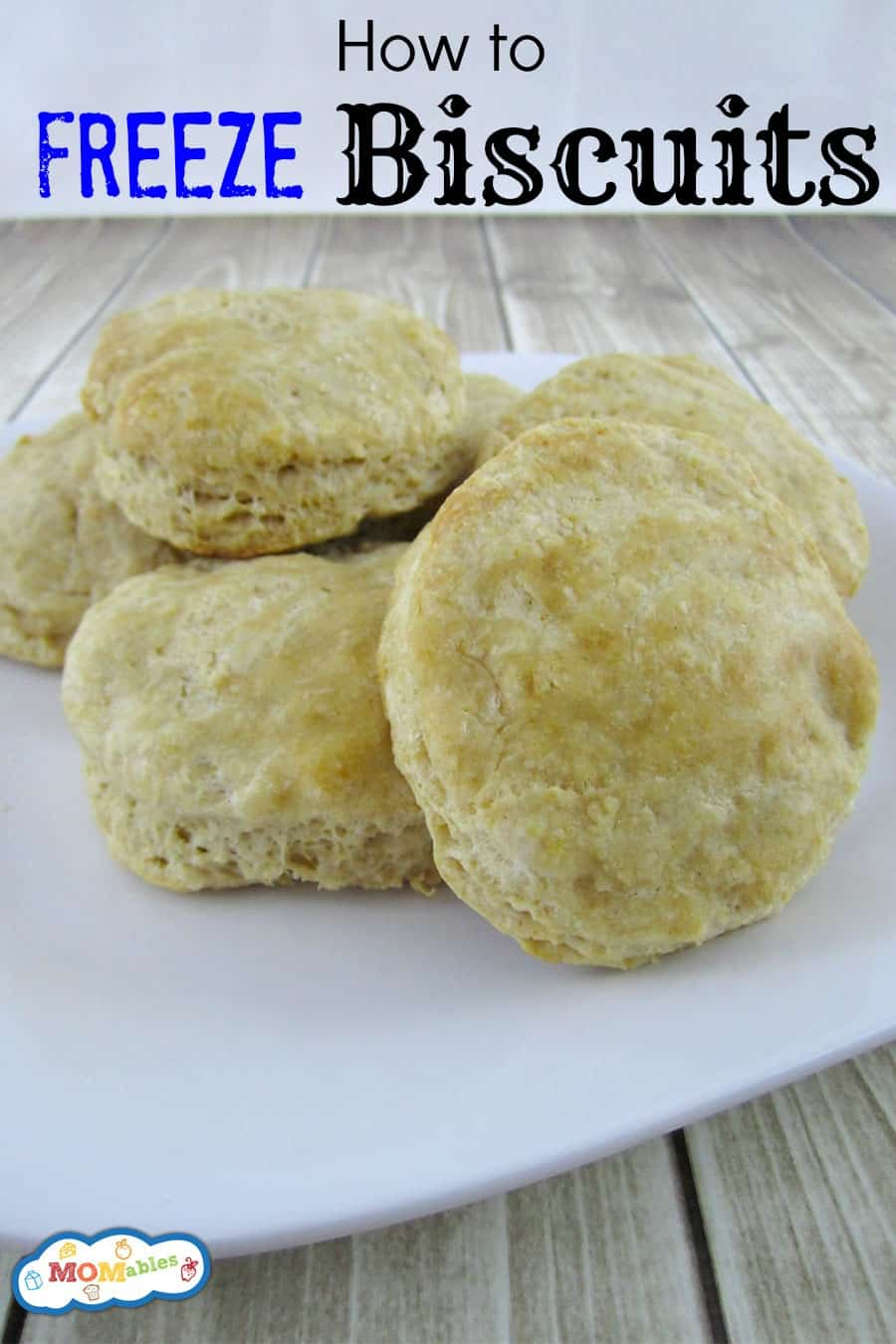 how to freeze biscuits