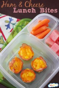 ham and cheese lunch bites