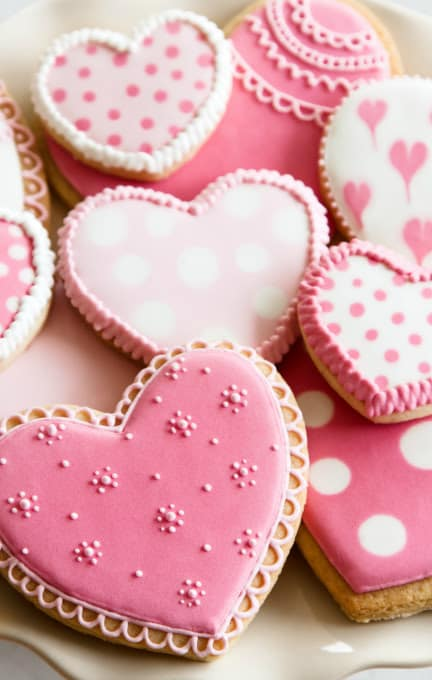 The classic sugar cookie gets a gluten-free makeover just in time for Valentine's day!