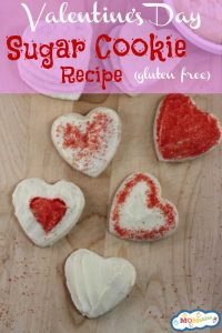 gluten free valentine's day sugar cookie recipe