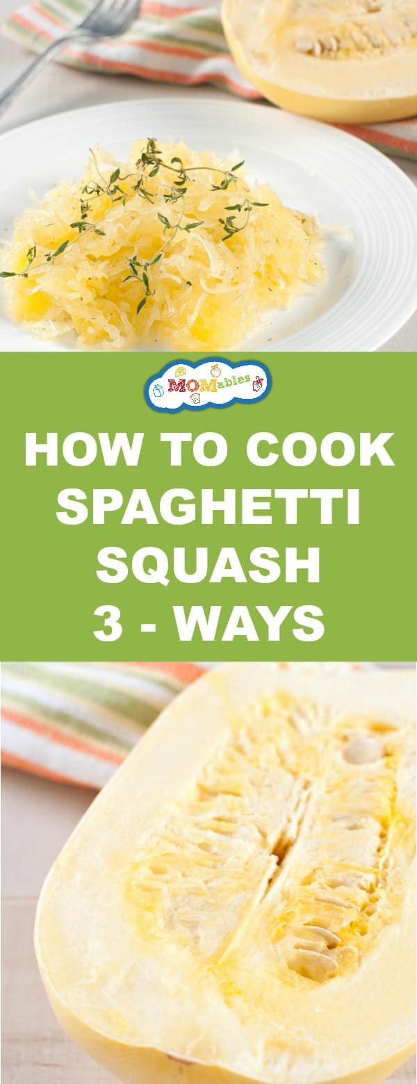 How to cook spaghetti squash the easy way? Check out these 3 methods and eating low-carb just got easier.