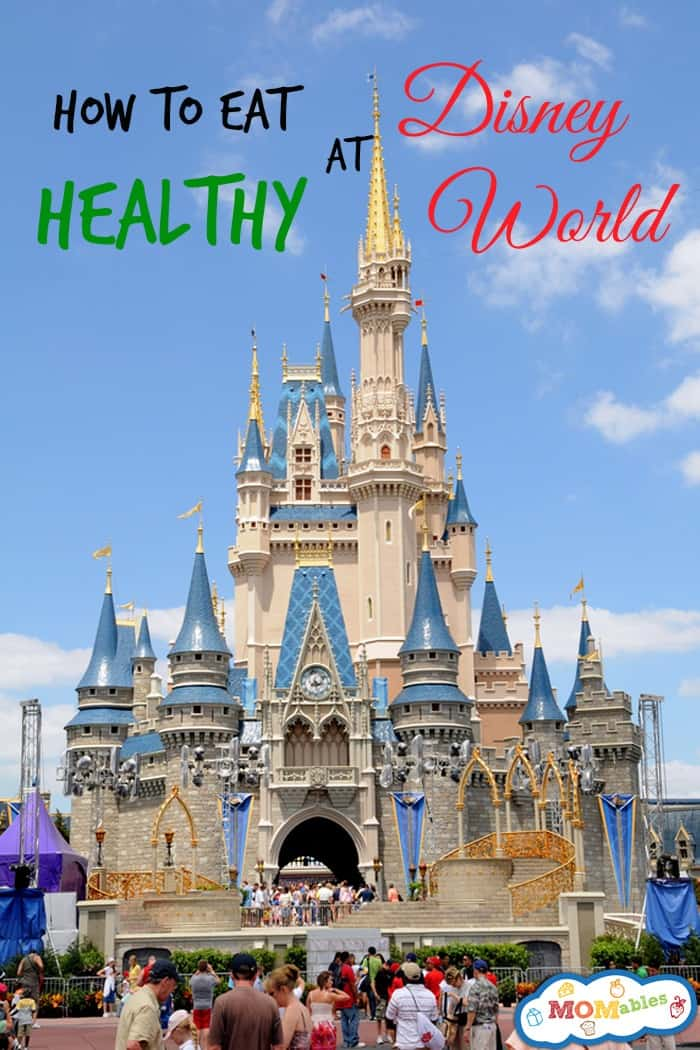 how to eat healthy at disney world
