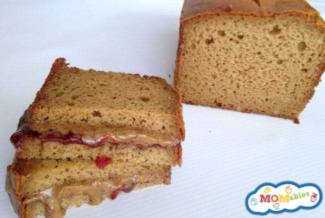 almond butter or peanut butter and jelly sandwiches are now a possibility with this easy to make grain free sandwich bread!