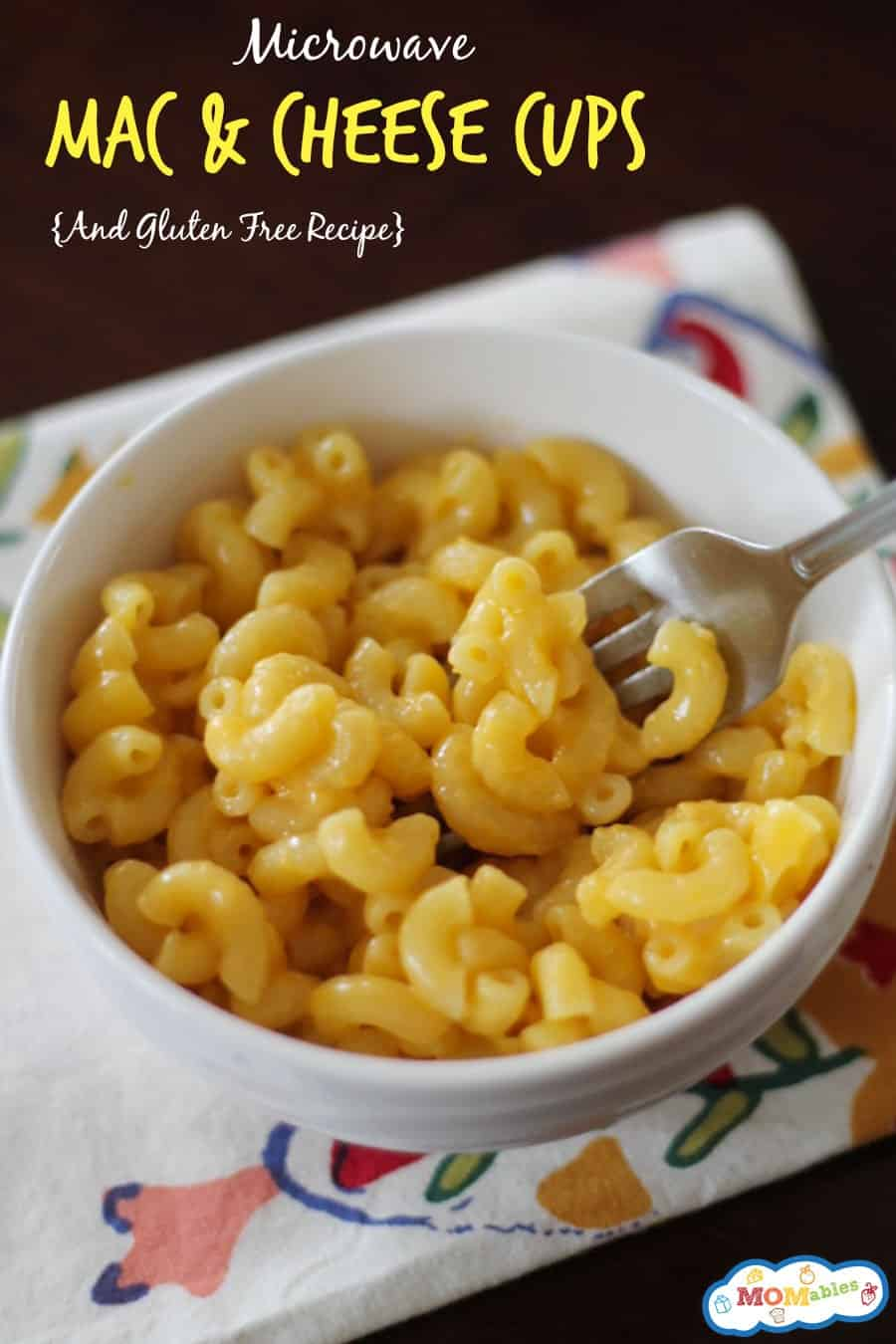 Microwave Mac And Cheese Cups