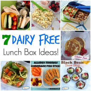 7 dairy free lunch box ideas
