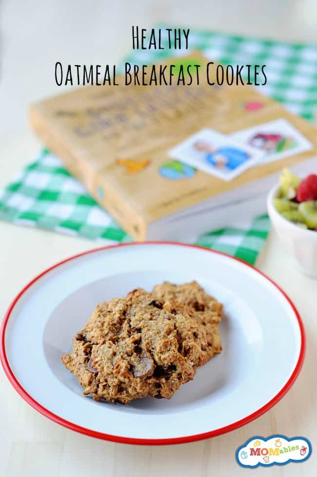 healthy oatmeal breakfast cookies. Easy to make and can be easily adapted to be gluten free