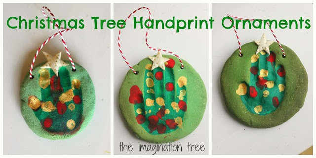 These ornaments are fun christmas craft and keepsake for the kids.