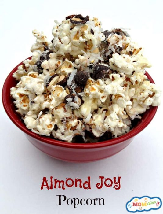This Almost Joy Popcorn is perfect for a movie night with the kids!