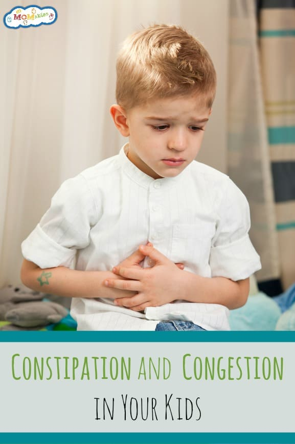 Constipation and Congestion in Your Kids Podcast | MOMables.com