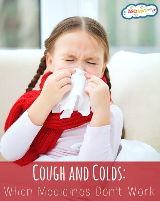 Cough and Cold: When Over the Counter Medicines Don't Work | MOMables.com