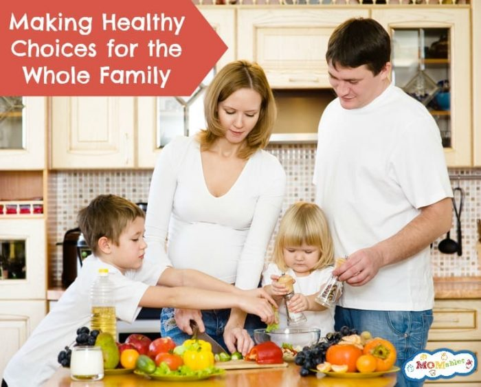 Making Healthy Choices for the Whole Family podcast |  MOMables.com