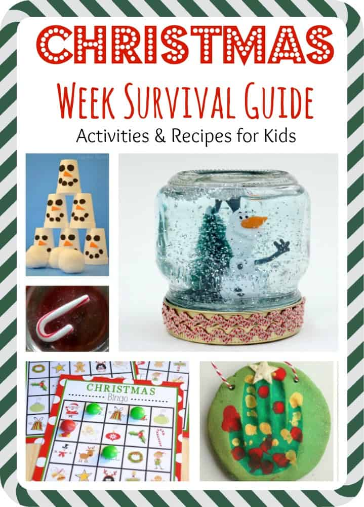 Christmas Week Survival Guide for the Kids