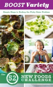 Tips for Boosting Kids' Food Variety