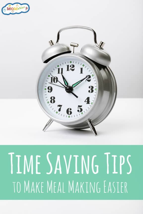 Time Saving Tips to Make Meal Making Easier podcast | MOMables.com