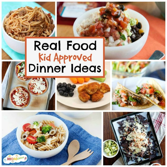 10 real food kid approved dinner ideas forumfinder Images
