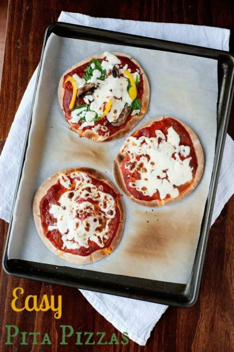 Easy Pizza PIta Recipe