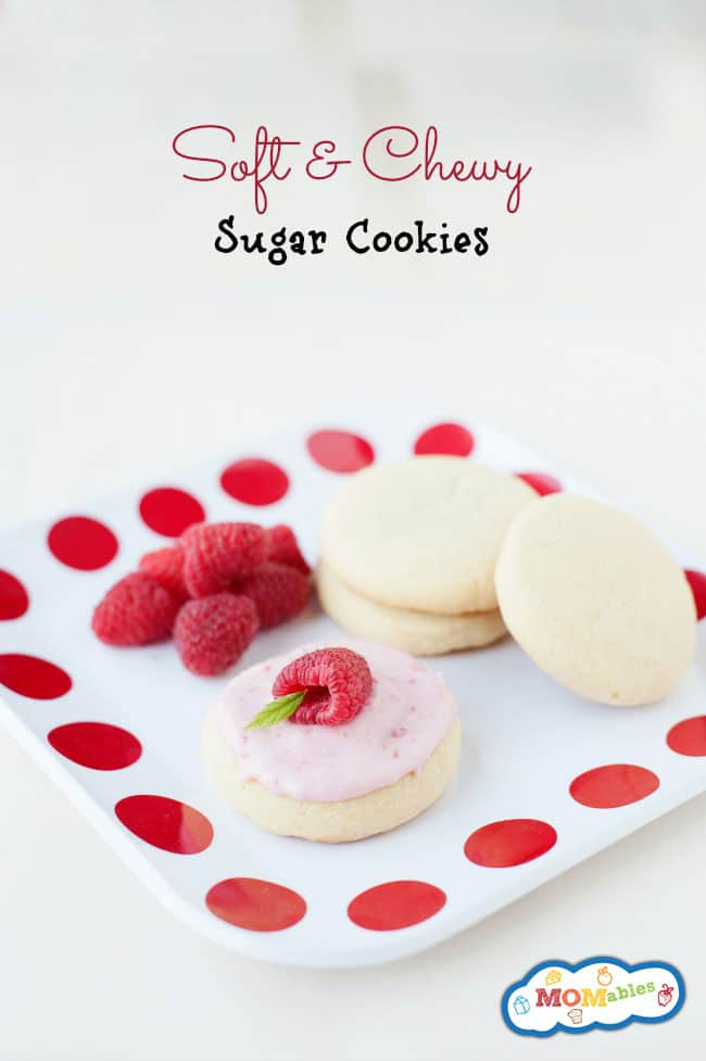 soft and chewy sugar cookie recipe like the ones sold at the grocery store!