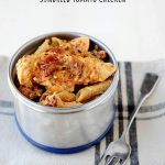 Creamy Sun-dried Tomato Chicken and Pasta Skillet Meal - MOMables.com