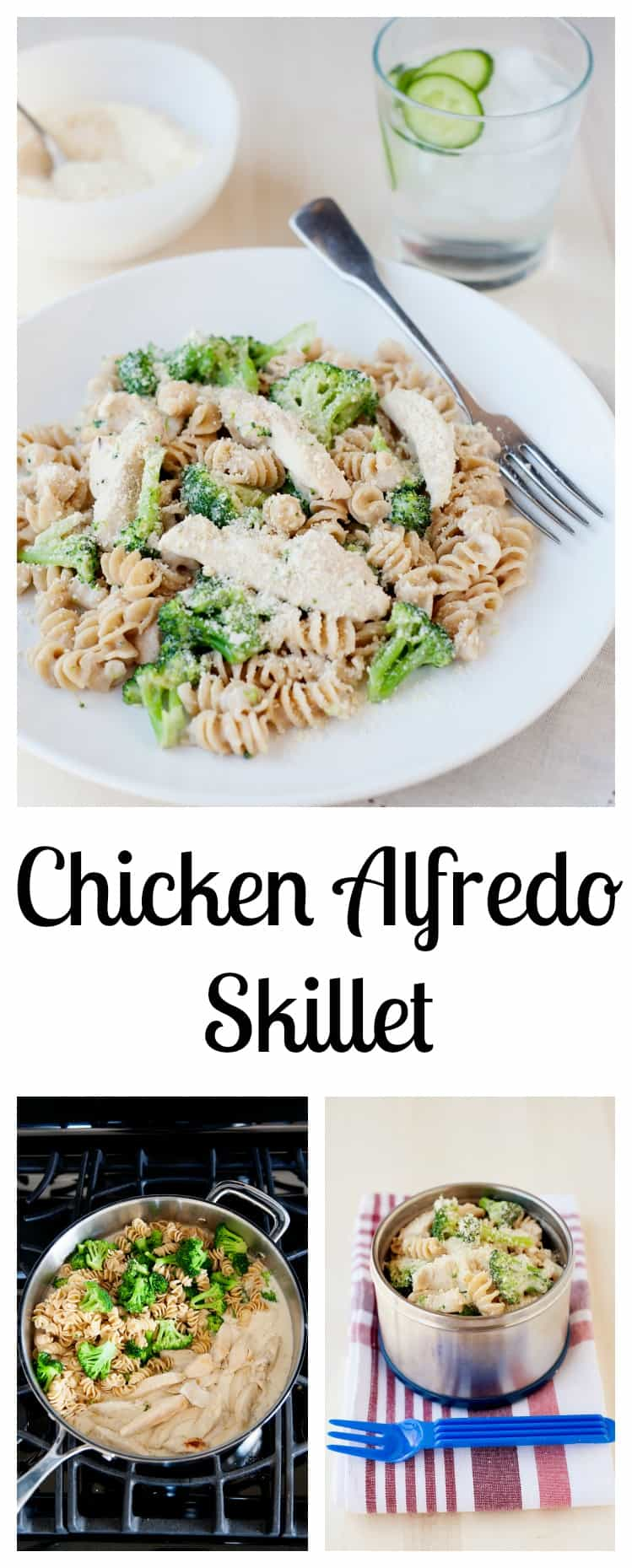 Looking for an easy weeknight meal, that will be on the table in minutes? If you have a skillet, we have a Chicken and Broccoli Alfredo recipe to do just that.