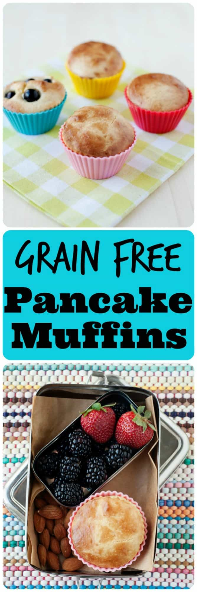 On the hunt for a portable breakfast, free of gluten & grains? The search is over! Our Grain Free Pancake Muffins are exactly what you've been looking for.