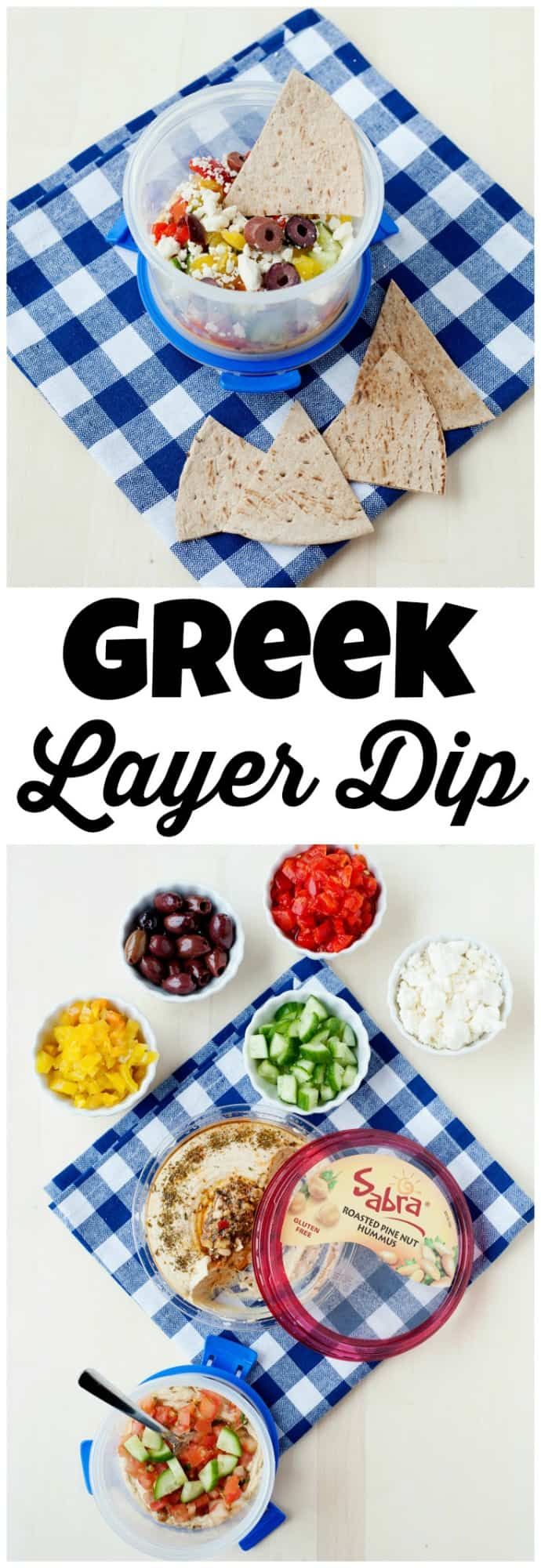 Need a fun and healthy school lunch idea? One that will help you get an extra serving of veggies in? If so, you are going to love these 7 Layer Greek Cups!