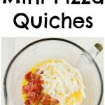 For days when you kids ask for pizza for breakfast, these Pizza Mini Quiches are the way to go.