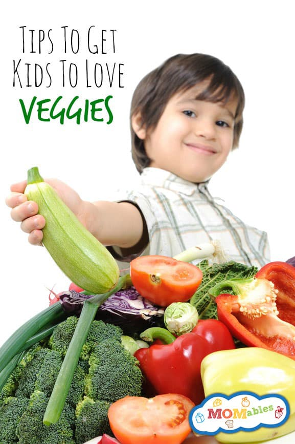 tips and tricks to help kids love their veggies.