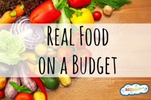 This podcast is filled with great tips on how to buy REAL food on a budet!
