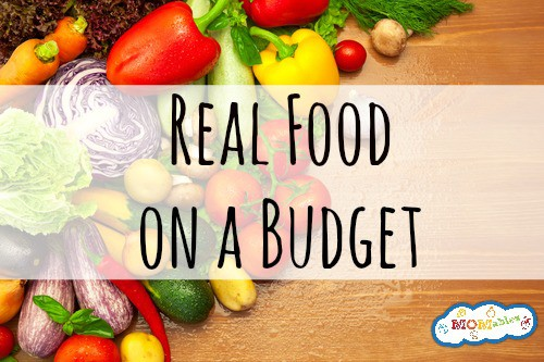 Real Food on A Budget {Podcast}