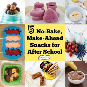 5 No-Bake, Make-Ahead After School Snacks