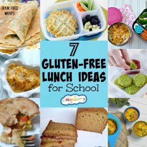 Having a child with a gluten allergy doesn't mean boring school lunches! These 7 gluten free lunch ideas are simple, delicious, and allergy-friendly.