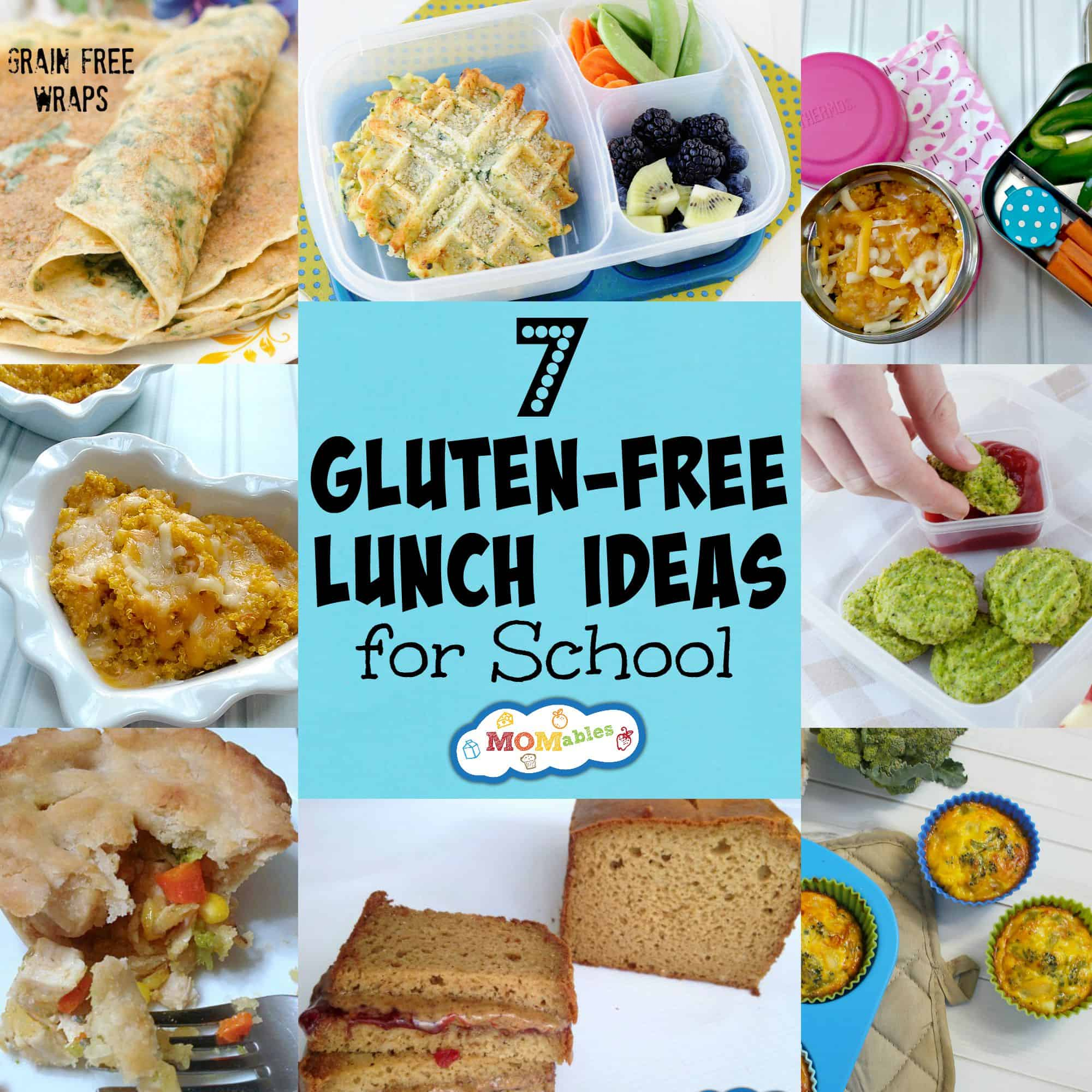 7 Gluten Free Lunch Ideas For School Momables