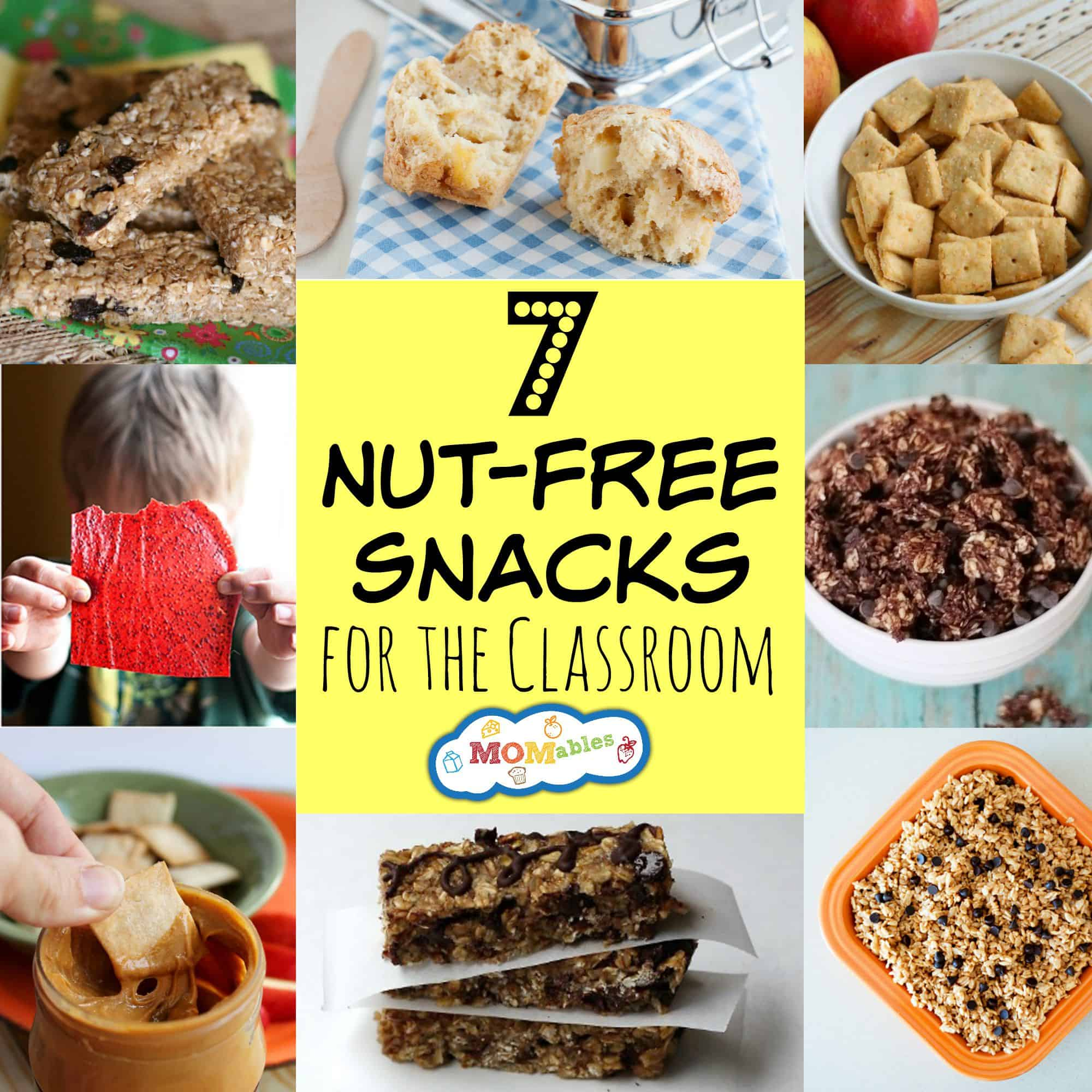 7 Nut Free Snacks For The Classroom & Lunchbox