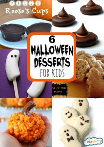 6 Easy Halloween Desserts for Kids