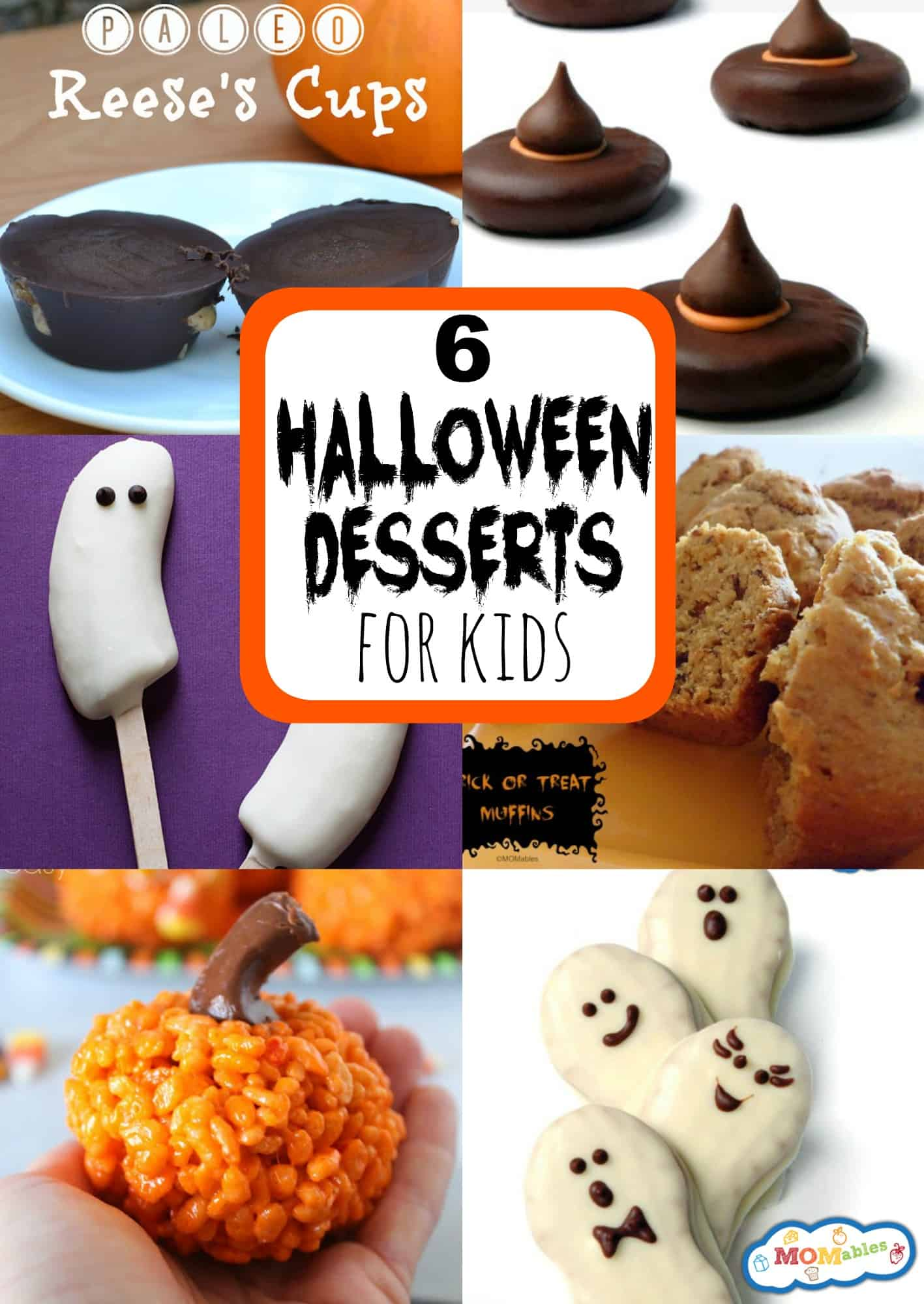 6 Easy Halloween Desserts for Kids , MOMables