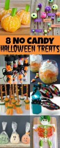 8 No Candy Halloween Treats