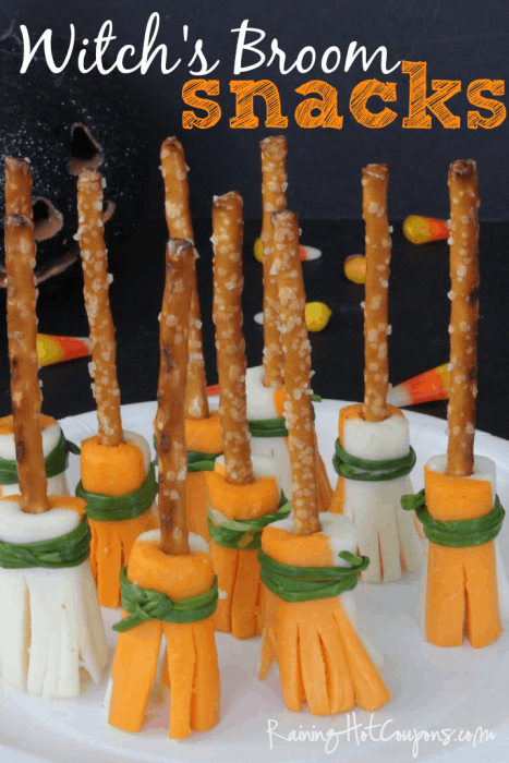 These 8 no candy Halloween treats are perfect alternatives for candy if your child's school doesn't allow candy, or if you're trying to avoid a sugar rush!