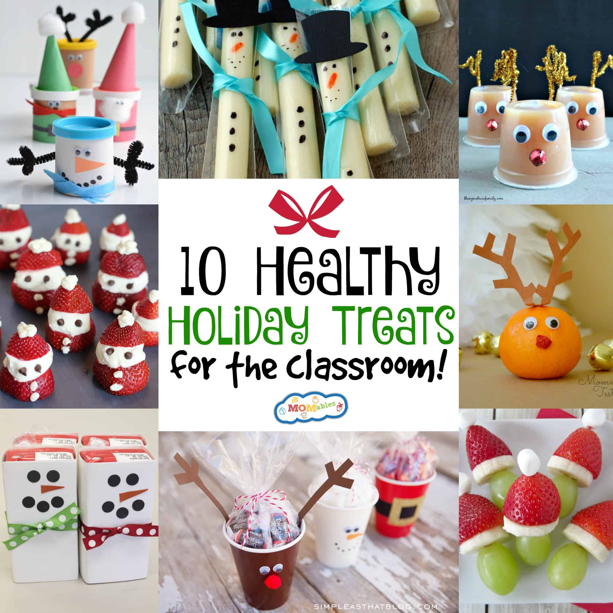Christmas Treats For School Parties.10 Healthy Holiday Treats For The Classroom Momables