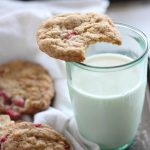 Put a twist on a classic cookie by using white chocolate! These Strawberry White Chocolate Chip Cookies are a kid favorite & a great treat for lunch boxes.