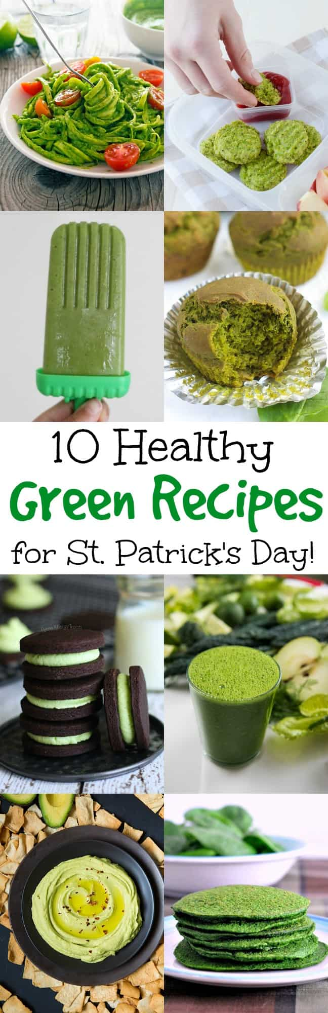 Use this holiday to get kids excited about eating vegetables. These healthy green recipes for St. Patrick's Day are festive and so delicious! Kid-approved.
