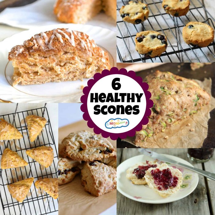 Feel like you're in a fancy bakery by enjoying some scones for breakfast! These 6 healthy scones are light and won't weigh you down all day.
